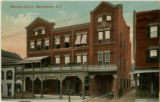 Mansion House Hotel, circa 1900, Morristown, NJ