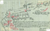 Plotting of lands formerly belonging to Abraham Pierson in Convent Station, 1932, By Henry W. Pilch. From Pilch...