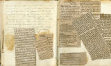 Pages 033-034, Civil War Diary of Confederate soldier George D. Wise, diary entry with newspaper...