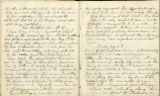 Pages 061-062, Civil War Diary of Confederate soldier George D. Wise,  April 6, 1865 to  May 14,...
