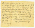 15b. Land Suit written by Jacob Arnold regarding William Leddell, 1789